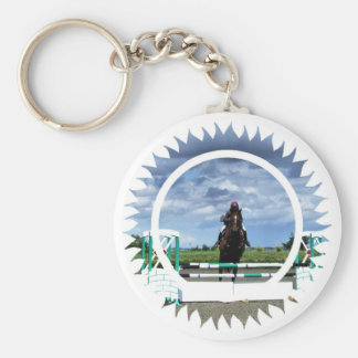 Horse Jumper Keychain