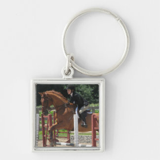 Horse Jumping Keychain