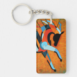 Horse Key Chain or Key Ring, SunDancer of the Fire