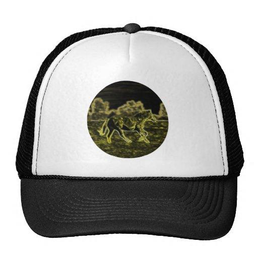 Horse (Light Horse) Mesh Hat