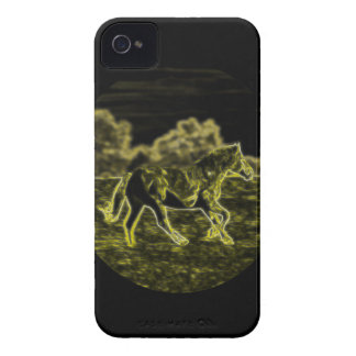 Horse (Light Horse) iPhone 4 Cover