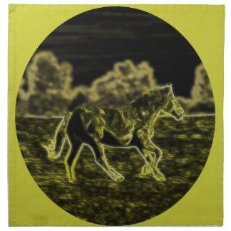 Horse (Light Horse) Napkin