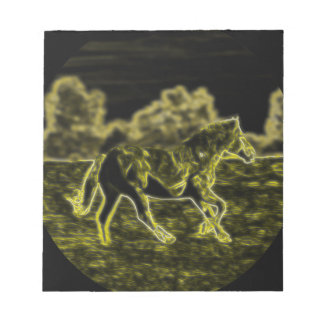 Horse (Light Horse) Notepad