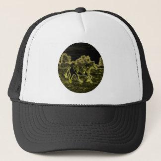 Horse (Light Horse) Trucker Hat