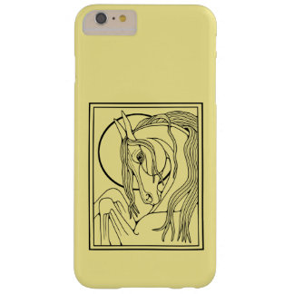 Horse Line Art Design Barely There iPhone 6 Plus Case