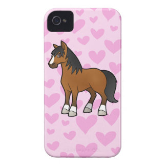 Horse Love iPhone 4 Case-Mate Case