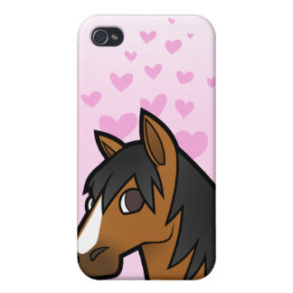 Horse Love iPhone 4 Cover