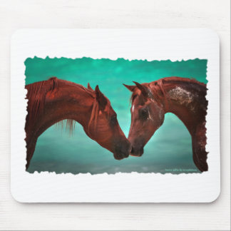 Horse Love Mouse Pad