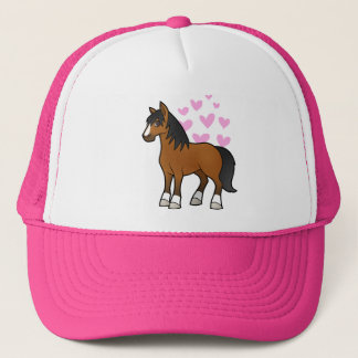 Horse Love Trucker Hat