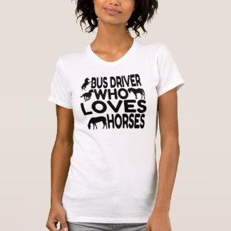 Horse Lover Bus Driver Tshirts