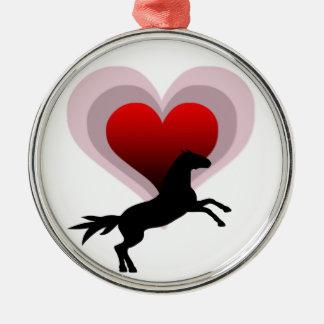 Horse Lover Christmas Ornament