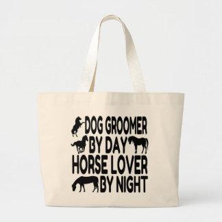 Horse Lover Dog Groomer Jumbo Tote Bag