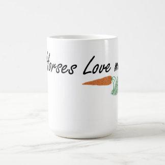 Horse lover gift mug large size