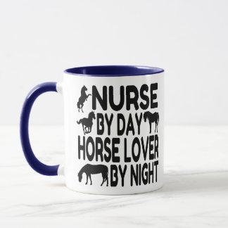 Horse Lover Nurse Mug