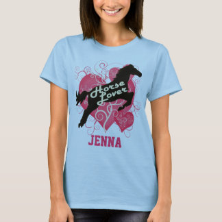 Horse Lover Personalized Jenna T-Shirt