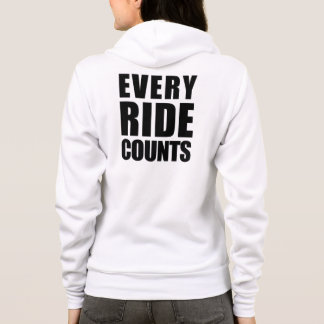 Horse Lovers-Every Ride Counts Hoodie
