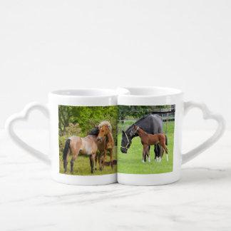 Horse Lovers Funny custom mug set Lovers Mug