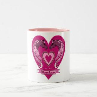 Horse Lovers Heart Mug