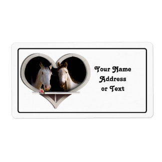 Horse Lovers Shipping Label