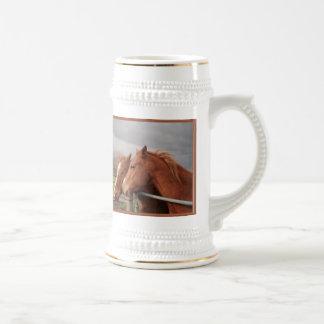 Horse Lovers Stein Mug