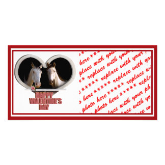 Horse Lovers Valentine Photo Cards