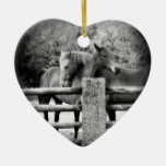 Horse Lovers Wedding or Anniversary Heart