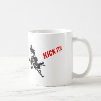 horse loves? to KICK IT! Coffee Mug