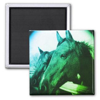 Horse Magnet - Green