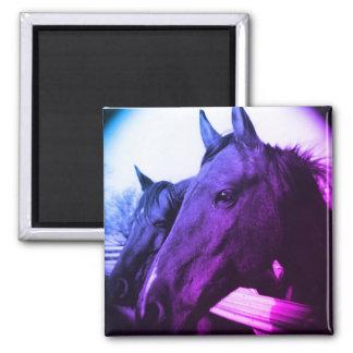 Horse Magnet - Purple