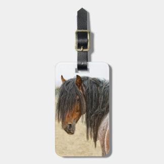 Horse Mane Luggage Tag