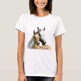 Horse Mom Ladies T-Shirt