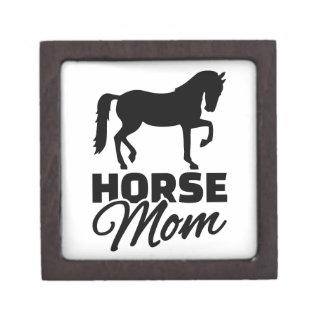 Horse mom premium trinket box