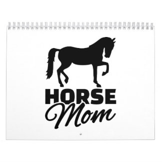 Horse mom wall calendars