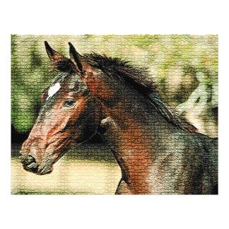 Horse Mosaic Tiles Flyer