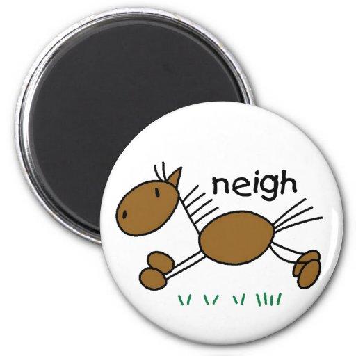 Horse Neigh Magnet Fridge Magnet