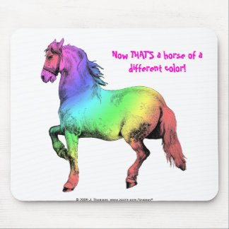 Horse of a Different Color Mousepad