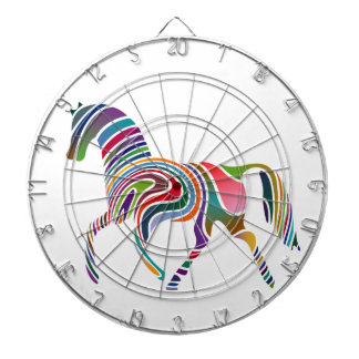 Horse of rainbow dartboard