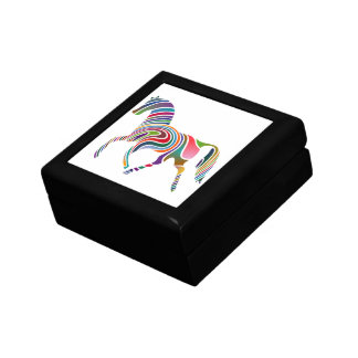 Horse of rainbow gift box