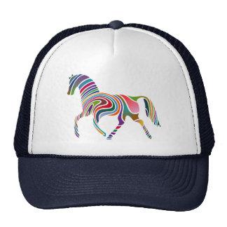 Horse of rainbow
