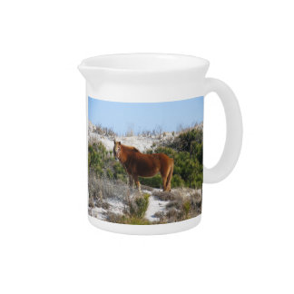 Horse on Mountain Pitcher