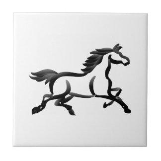 Horse Outline Tile