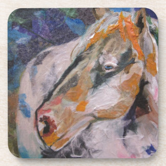 Horse Painting Drink Coasters