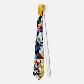 Horse Painting Tie