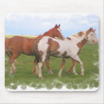 Horse Pair Mouse Pad
