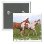 Horse Pair Pin