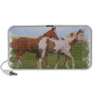 Horse Pair Portable Speakers