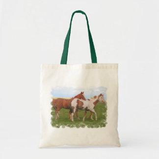 Horse Pair Small Bag