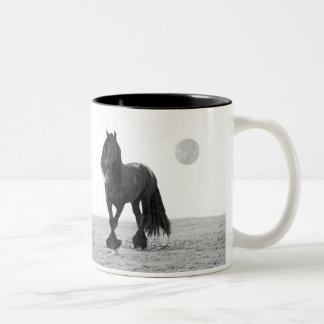 Horse perfect Two-Tone coffee mug