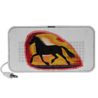 Horse Pet Animal  Add TXT IMG background color Speaker