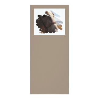 "Horse Photo Closeup 4"" X 9.25"" Invitation Card"
